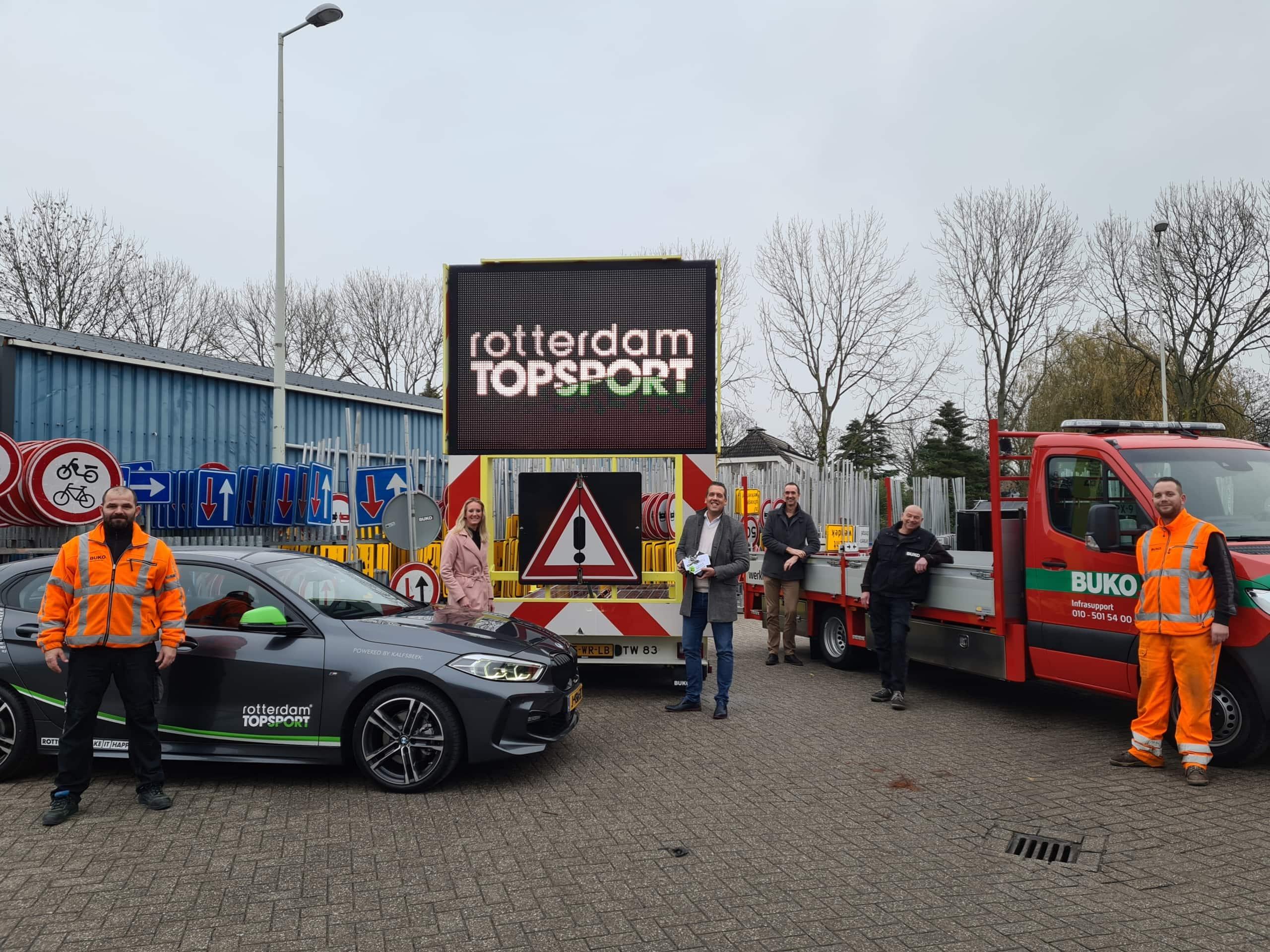 BUKO Infrasupport(er) van Rotterdam Topsport!