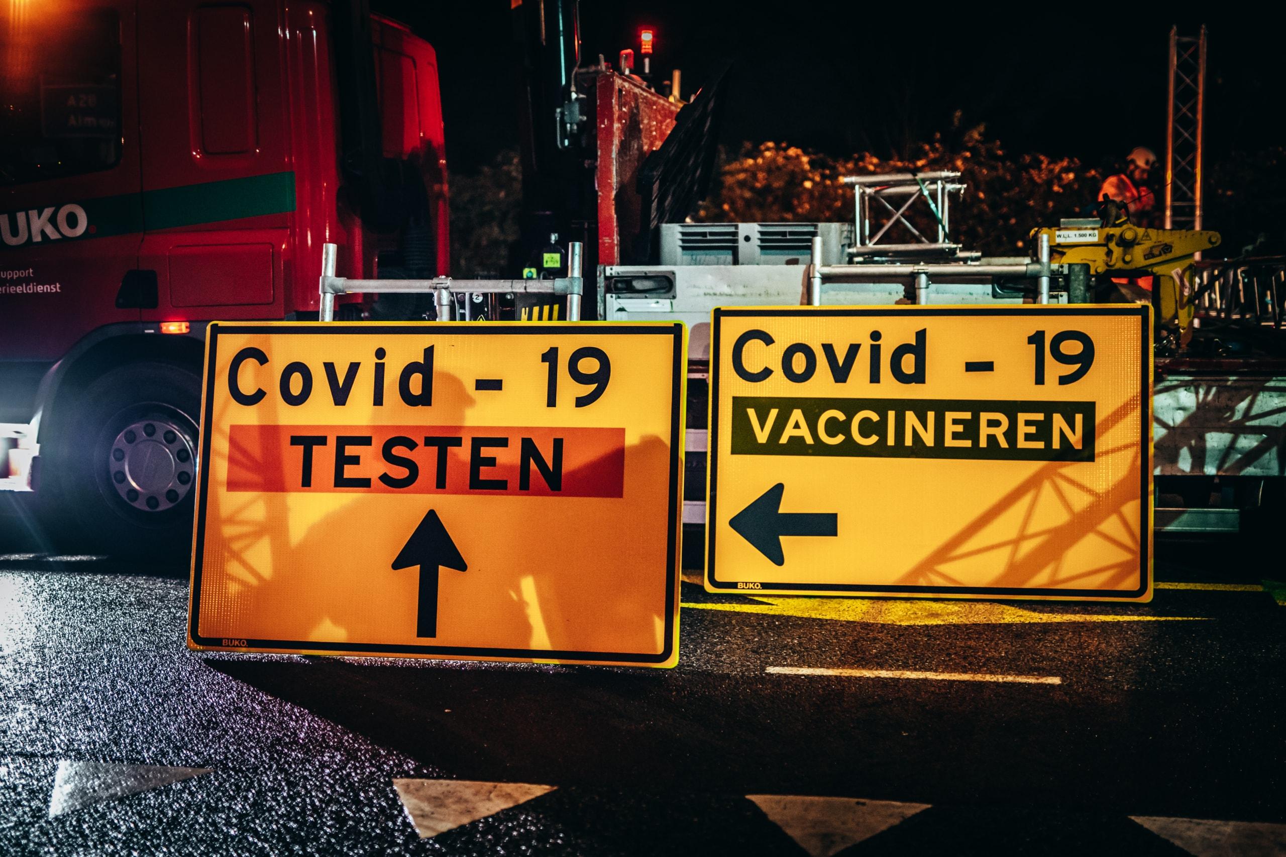 Logistieke inrichting XL-teststraat & Vaccinatie locatie Zwolle